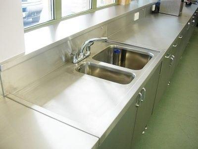 industrial stainless steel sinks