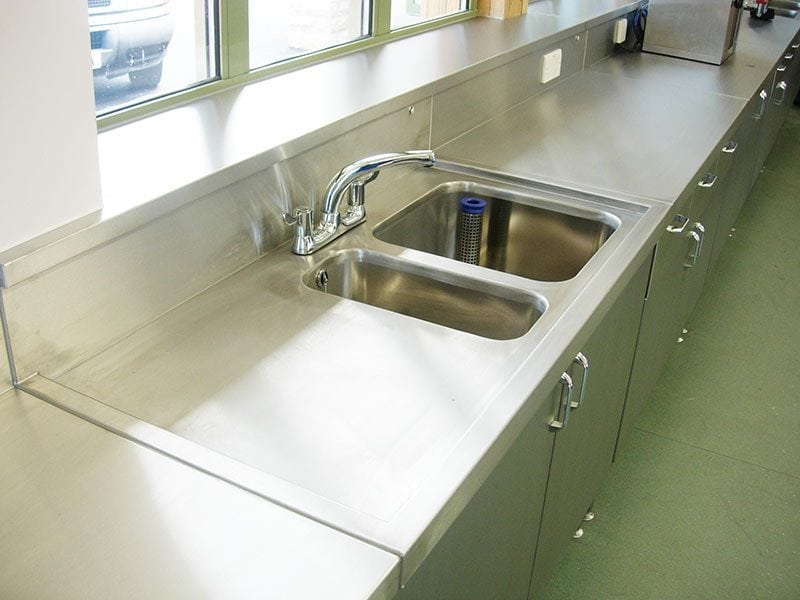 industrial stainless steel sinks