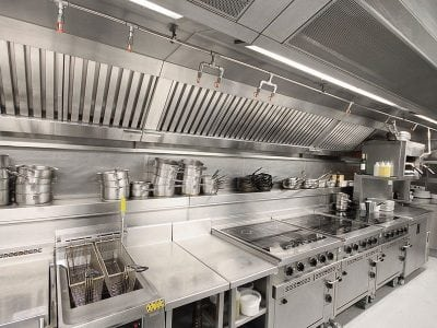 Commericial Kitchen Ventilation System