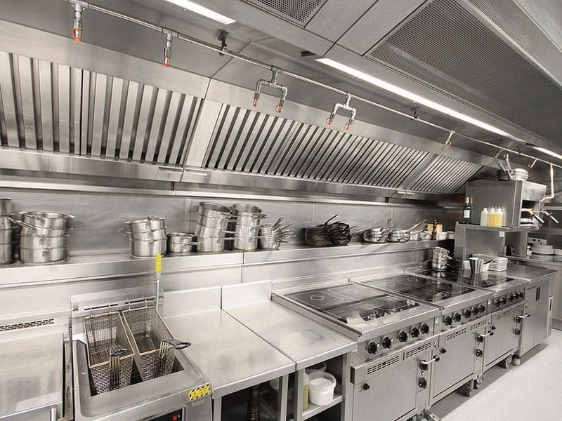 Commercial kitchen ventilation system canopies corhaven - Commercial grade bathroom exhaust fans ...