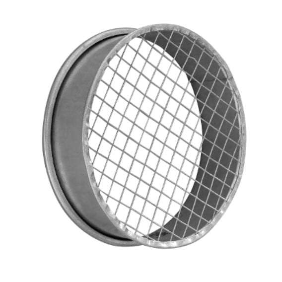 QF End cap with bird mesh